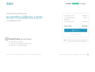 eventsvideos.com screenshot