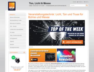 eventtechnik3000.de screenshot