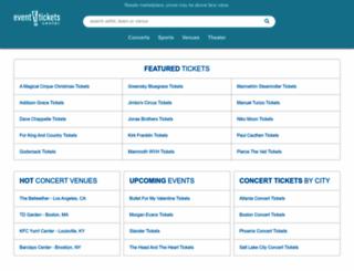 eventticketscenter.com screenshot
