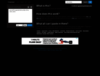 evepraisal.com screenshot