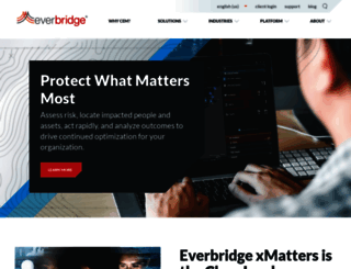 everbridge.com screenshot