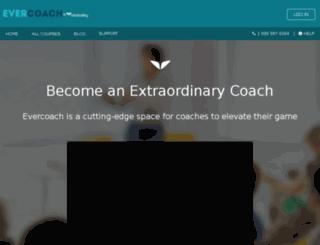 evercoach.mvedit.com screenshot