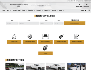 everettchevy.com screenshot