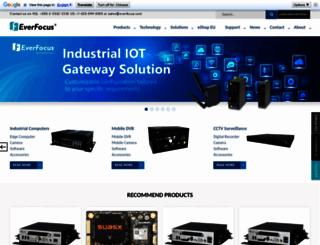 everfocus.com screenshot