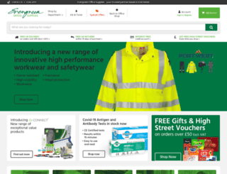 evergreen.co.uk screenshot