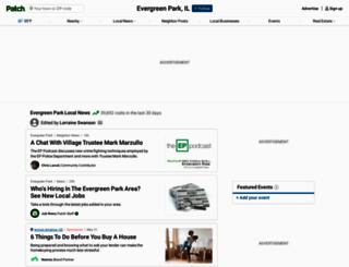 evergreenpark.patch.com screenshot