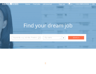everjobs.com.et screenshot