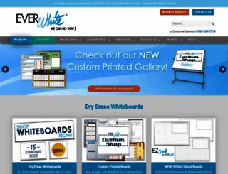 everwhiteboards.com screenshot