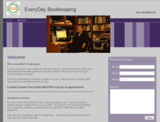 everydaybookkeeping.biz screenshot