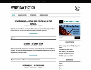 everydayfiction.com screenshot