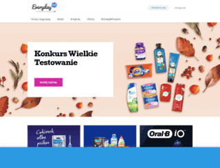 everydayme.pl screenshot