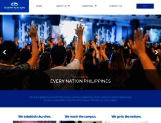 everynation.org.ph screenshot