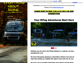 everything-about-rving.com screenshot