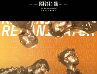 everything-everything.co.uk screenshot