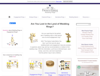everything wedding ringscom screenshot - Wedding Ringscom