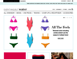 everythingbutwater.com screenshot