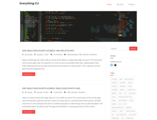 everythingcli.org screenshot