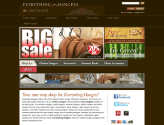 everythinghangers.com screenshot
