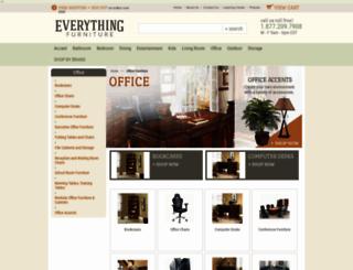 everythingofficefurniture.com screenshot