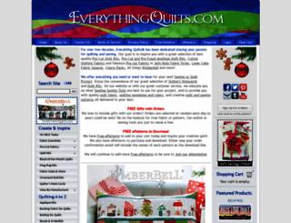 everythingquilts.com screenshot