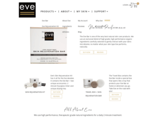 eveskincare.com screenshot