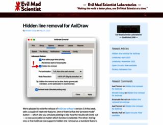evilmadscientist.com screenshot