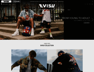 evisu.com screenshot