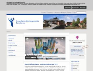 evkirche-oeschelbronn.de screenshot