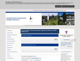 evkirche-sillenbuch.de screenshot