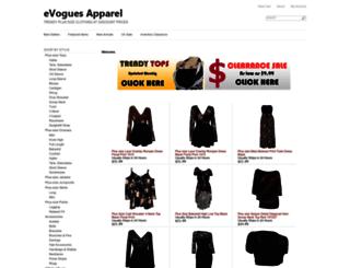 evogues.com screenshot