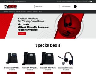 evoipstore.com screenshot