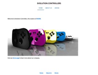 evolutioncontrollers.com screenshot