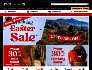 evolutioncycles.co.nz screenshot