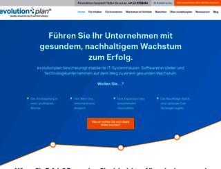 evolutionplan.de screenshot