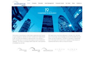 evolvence.com screenshot