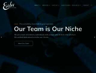 evolvewebdesign.com screenshot