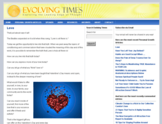 evolvingtimes.com screenshot