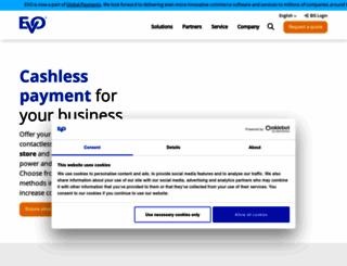 evopayments.eu screenshot