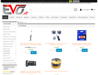 evostore.it screenshot