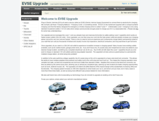 evseupgrade.com screenshot