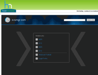 evsmgr.com screenshot
