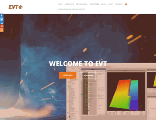 evt-web.com screenshot