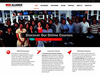 eweballiance.com screenshot