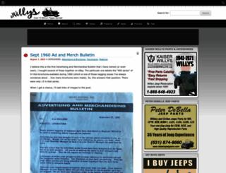 ewillys.com screenshot