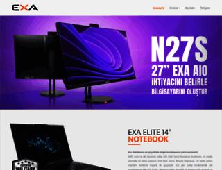 exa.com.tr screenshot