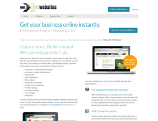 exactwebsites.com screenshot