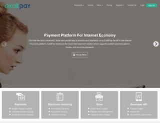 exaltpay.com screenshot