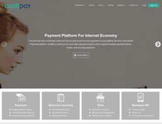 exaltpay.com screenshot