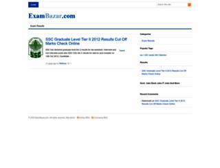 exambazar.com screenshot