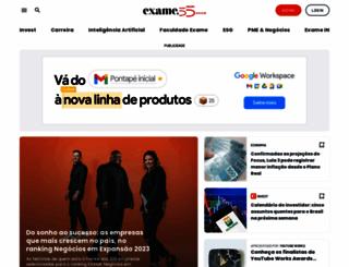 exame.com.br screenshot